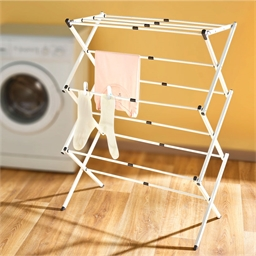 Extendable clothes horse