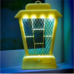 Phosphorescent insect killer lamp