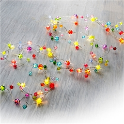 Multicoloured LED garland
