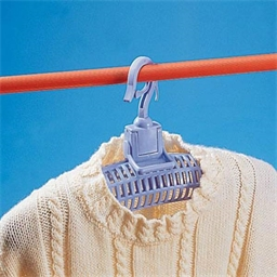 Set of 2 jumper drying hangers