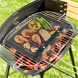 Sac filet cuisson barbecue