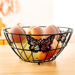 Corbeille fruits papillons