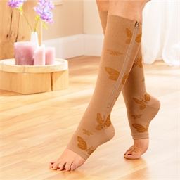Butterfly support stockings