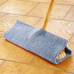 Micro-fibre floor mop