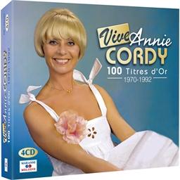 Vive Annie Cordy : 100 TITRES D'OR