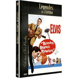 Dvd Elvis Presley Blondes Brunes Rousses