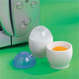 Set of 2 colour control egg cups