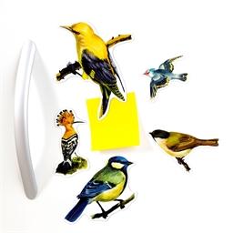 Magnets oiseaux