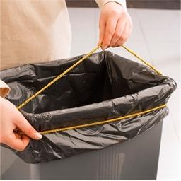 Lot de 3 élastiques sacs poubelle