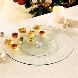 Revolving aperitif tray