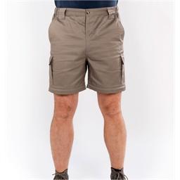 Beige 2-in-1 pantalon