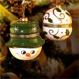 Gift Box Snowman