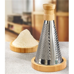 Bamboo cheese grater