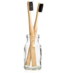 Set of 2 bamboo toothbrushes