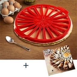Cercle tarte soleil + livre tarte soleil