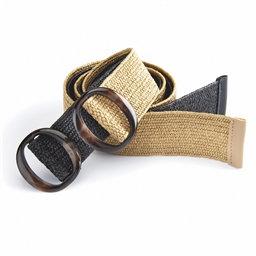 Set of 2 extendable straw belts