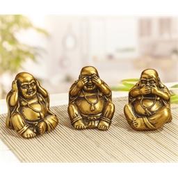 3 boeddha's sereniteit