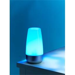 LED colour changing mood lamp