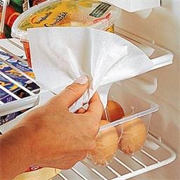 12 schoonmaakdoekjes voor de koelkast
