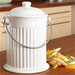 Composteur céramique Blanc