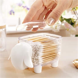 Sheep cotton bud holder - Bamboo cotton buds