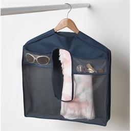 Accessory bag on hanger