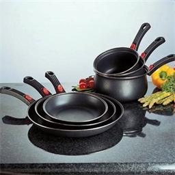 Lot de 3 poêles et/ou casseroles anti-adhésives