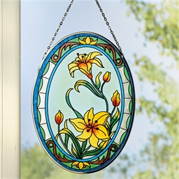 Daffodil stained glass