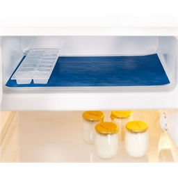 Antifrost mat for the freezer