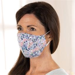 Lot de 2 masques en tissu réutilisables