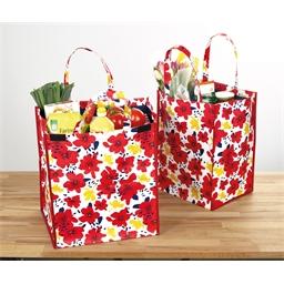 2 floral maxi bags