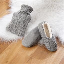 Coffret bouillotte & chaussons