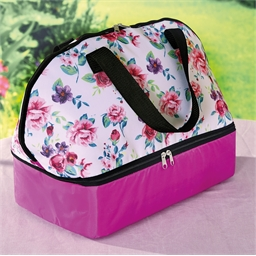 Floral rose cool bag