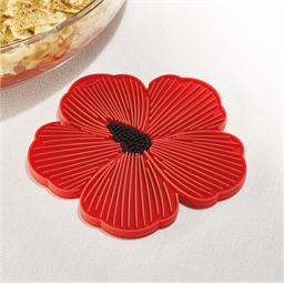 Poppy table mat