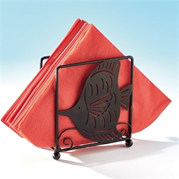Arabesque fish serviette holder or Arabesque fish kitchen roll dispenser + serviette holder