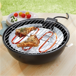 Circular smokeless barbecue