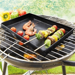 Barbecue tray