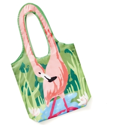 Sac de courses Flamant rose