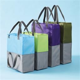 4 sacs chariot extensibles