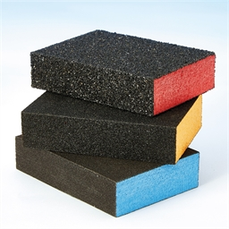 Lot 3 tampons abrasifs