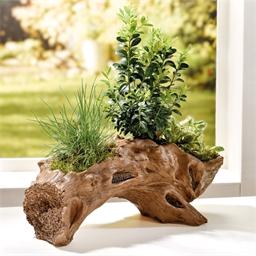 Jardinière bois flotté