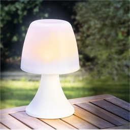 Lampe de table solaire