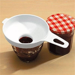 Jam jar funnel