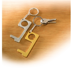 Set of 2 anti-infection keyrings