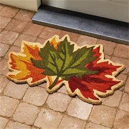 Deurmat herfstbladeren
