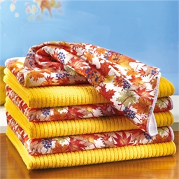 6 autumnal microfibre cloths