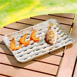 10 barbecue trays