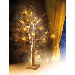 Arbre LED doré