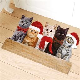 Tapis d'intérieur Chats de Noël