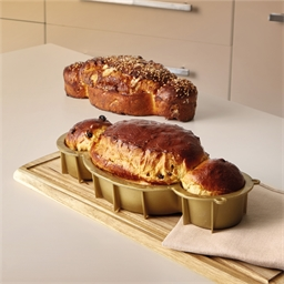 Christmas brioche mould